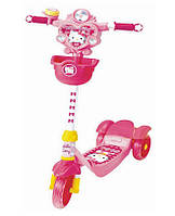 YaYa Скутер-самокат Hello Kitty с тормозами