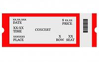 Термо бумага 130 г/м2 (в рулонах) для производства билетов с переменной информацией.
