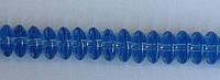 Бусина Юла 5*10 мм цвет голубой