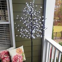 Уличный LED светильник, светящиеся деревья 75032 EGLO