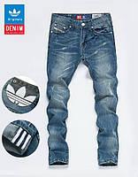 Стильные мужские джинсы DIESEL ADIDAS. Удобны в использовании. Модные джинсы. Купить джинсы. Код: КДН121