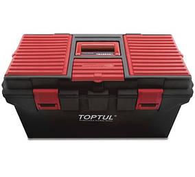 Ящик для инструмента  4 секции (пластик)  Toptul  TBAE0401