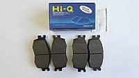 Передние тормозные колодки Hyundai Accent 2006-2010 Hi-Q Sangsin Корея SP1186