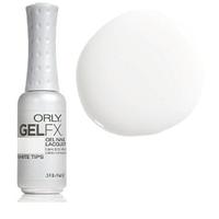 """Гель-лак """"White Tips"""" (чистый белый, для французского маникюра, эмаль) , Gel FX White Tips 9 мл"""