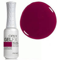 Гель-лак (вишневый, эмаль) , Gel FX Forever Crimson 9 мл