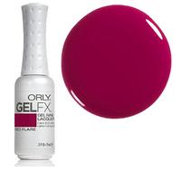 Гель-лак (красно-вишневый, эмаль) , Gel FX Red Flare 9 мл