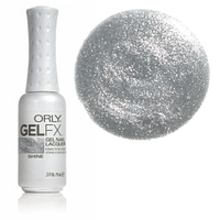 Гель-лак (серебряный металлик, плотные блестки) , Gel FX Shine 9 мл