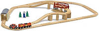 Железная дорога - деревянный игровой набор