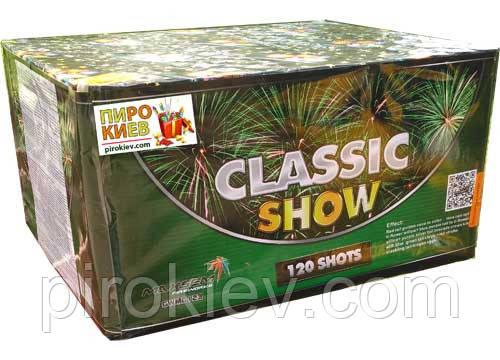 """Фейерверк """"Classic Show"""" GWM 6123 (120 выстрелов, калибр 30 мм)"""
