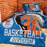 Детское постельное белье полуторное Basketball (Баскетбол)