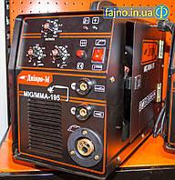 Полуавтомат инверторный Дніпро-М MIG/MMA 195 (2in1, IGBT)