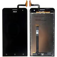 Дисплей с сенсорной панель Asus ZenFone 5 (A500KL/ A501CG) Black, лицензия