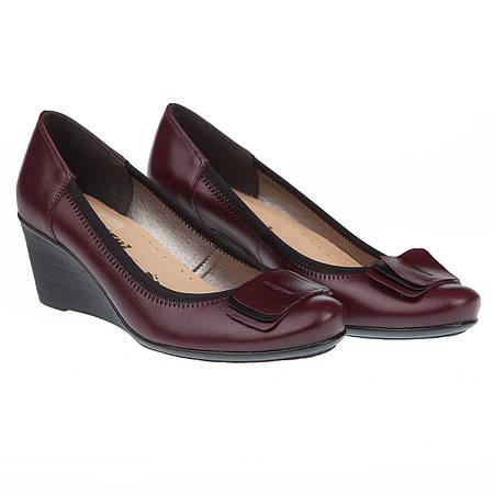 Купить Туфли женские бордовые от Goral (стильные 8b851effae0c0