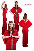 """Платье в стиле """"Хиппи"""" красного цвета"""