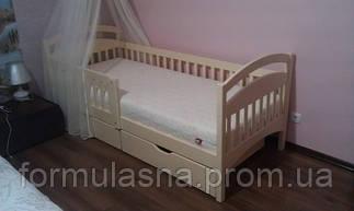 Кровать подростковая Арина с защитными бортиками