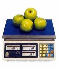 Весы торговые ВТНЕ1-6Т1К. Торговельні ваги