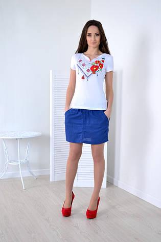 Женская футболка вышиванка, фото 2