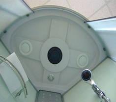Гидромассажный бокс Atlantis AKL 100P-T XL 100x100 с низким поддоном, фото 2