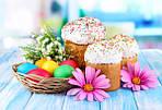 Привітання зі Святом Великодня!