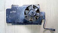 Диффузор и вентилятор Mitsubishi Pajero Wagon 2, 1998 г.в. MB878165, MB878164