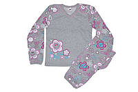 Детская пижама для девочки Фламинго 228-315 (футер)