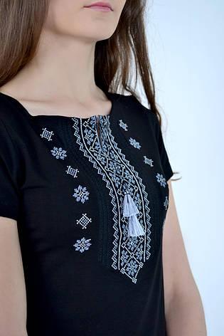 Женская стильная футболка вышиванка, фото 2