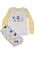 Детская пижама для девочки Фламинго 247-212 (интерлок)