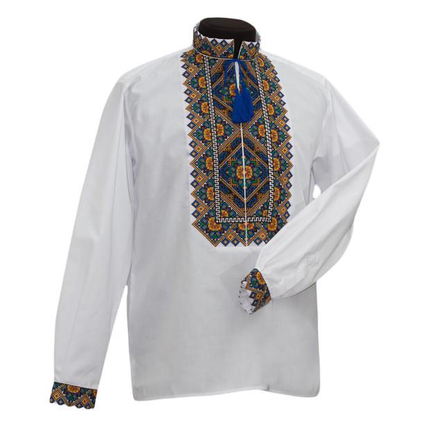 Льняная сорочка вышиванка Барва