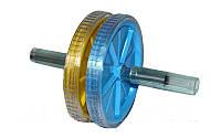 Колесо-триммер двойное PS CL-710 (d колеса-18см, металл, пластик, ручка-силикон)