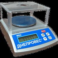 Весы лабораторные Днепровес ФЕН-300Л (0,01г). Поверка