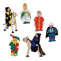 Деревянные фигурки для рыцарского замка Melissa&Doug (MD285), фото 1