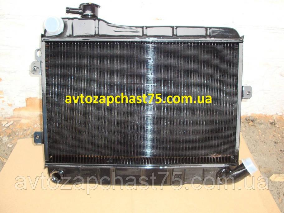 Радиатор Ваз 2107 медный (производитель Оренбургский радиатор , Россия)