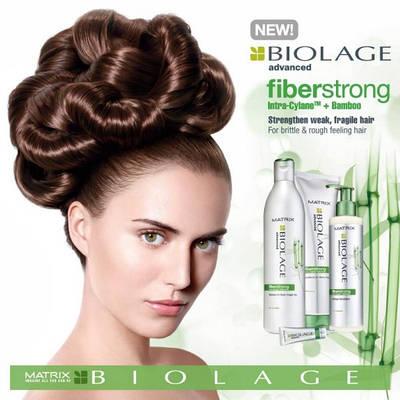 Matrix выпустила Новую линию Biolage Fiberstrong – делаем волосы сильней