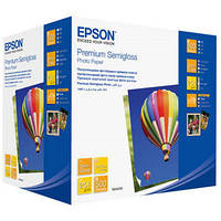 Фотобумага Epson, полуглянцевая, A6 (10x15), 250 г/м2, 500 л, Premium Series (C13S042200)