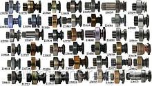 Бендиксы на стартера Man, Ford, Audi, Volkswagen, Skoda, Mercedes, Citroen, Peugeot, Nissan, Toyota, Chrysler
