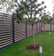 Забор из ламелей жалюзи «Классик»