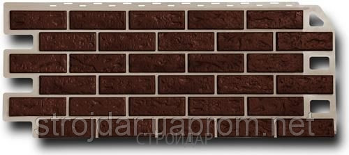 Фасадная панель цокольный сайдинг Fine Ber (кирпич, камень, сланец и т.д.)