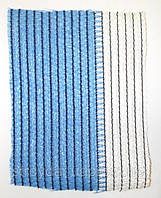 Сетка затеняйка Tenax (Тенакс) от солнца и ветра Солеадо (зеленая,бело-голубая) 85%