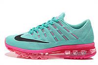 Женские кроссовки Nike Air Max 2016 бирюзовые, фото 1