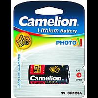 Батарейка camelion cr 123 1 штука lithium (cr123a-bp1)