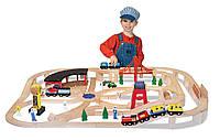 Детская железная дорога Melissa & Doug (MD701)