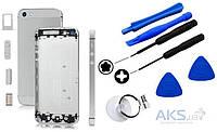 Корпус Apple iPhone 5 Original White (85837) + набор для открывания корпусов iPhone