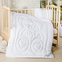Набор в кроватку детский одеяло с подушкой
