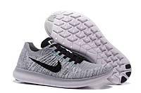 Кроссовки мужские Nike Free 5.0  Flyknit light grey, фото 1