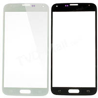 Скло дисплея Samsung G900 Galaxy S5 White