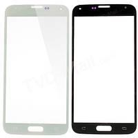 Стекло дисплея Samsung G900 Galaxy S5 White