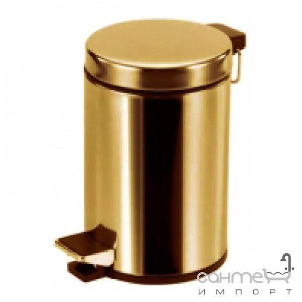 Аксессуары для ванной комнаты All.pe Урна для мусора All.pe 5 Collection CV010 BR бронза