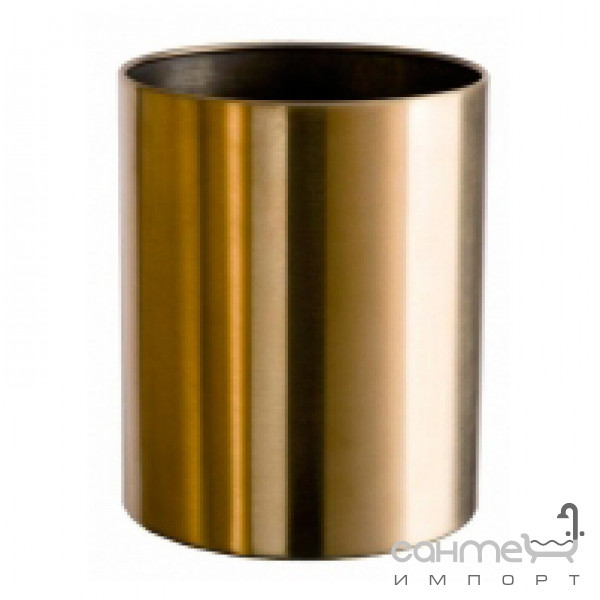 Аксессуары для ванной комнаты All.pe Урна для мусора All.pe 5 Collection CV011 BR бронза