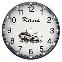 Новый часовой циферблат Кама