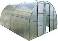 Каркасная теплица 3х4 м под поликарбонат, Greenhouse, Shiryonit hosem technologies